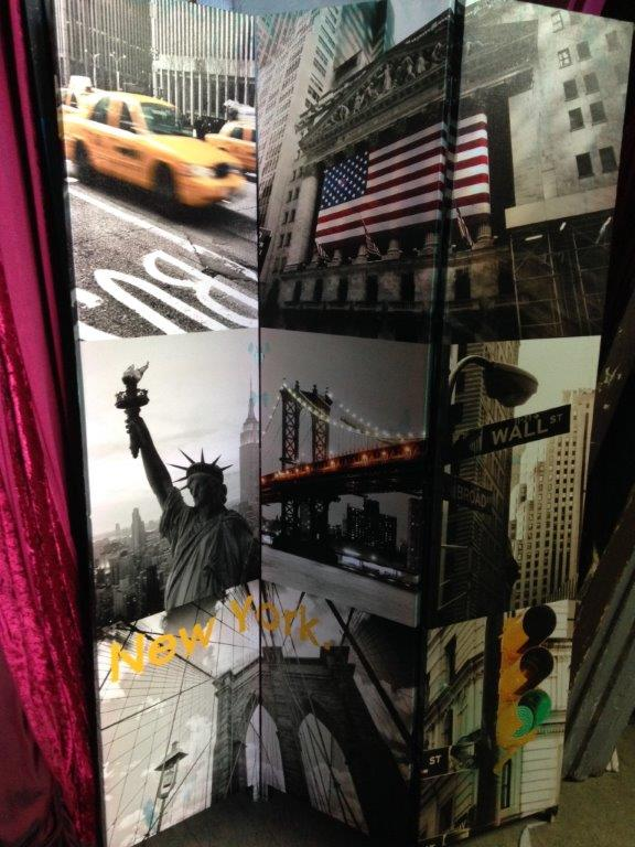 New York Trifold - Prop For Hire