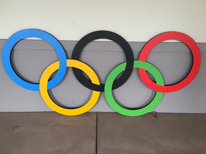 Olympic Rings Feature - Prop For Hire