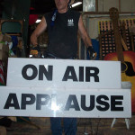 On Air Applause Sign - Prop For Hire