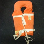 Orange Life Vest - Prop For Hire