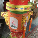 Oriental Lanterns Fabric - Prop For Hire