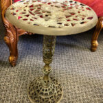 Ornate Brass Table - Prop For Hire