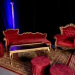 Ornate Chaise Lounge - Prop For Hire