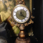 Ornate Gold Clock - Prop For Hire