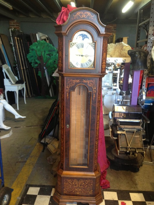 Ornate Grandfather Clock - Prop For Hire
