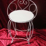 Ornate Iron Chair - Prop For Hire