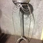 Ornate Metal Plinth - Prop For Hire