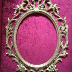 Ornate Oval Frames - Prop For Hire