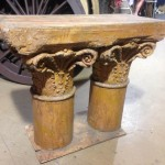 Ornate Plinth Bench - Prop For Hire