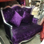 Ornate Purple Throne - Prop For Hire
