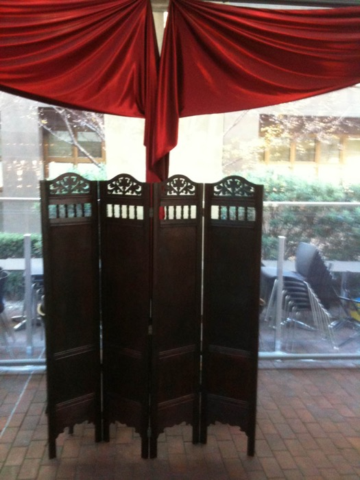 Ornate Room Dividers - Prop For Hire