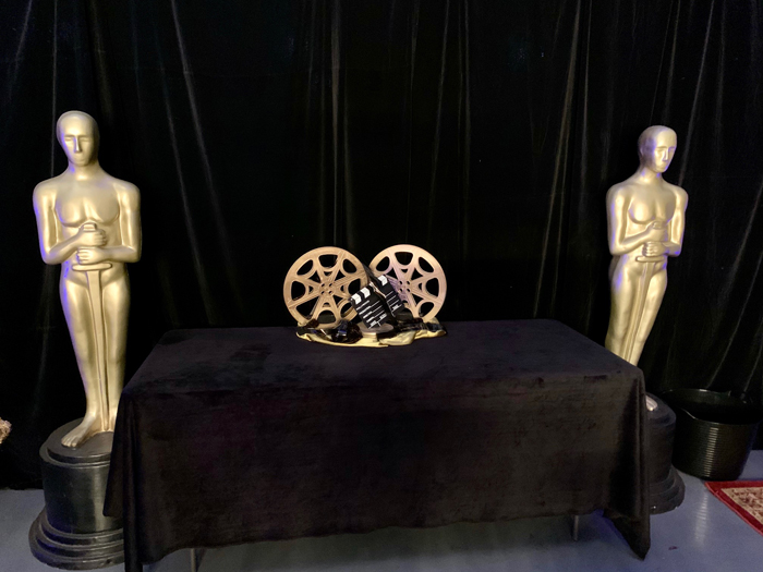 Oscars Banquet Table - Prop For Hire