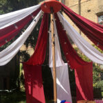 Outdoor Bigtop Drapes - Prop For Hire