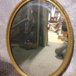 Oval Ornate Mirror - Prop For Hire