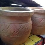Oversize Terracotta Pots - Prop For Hire