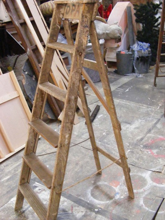Painter Ladder 2 - Prop For Hire