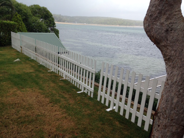 Picket Fence Scene - Prop For Hire