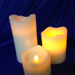 Pillar Candles - Prop For Hire