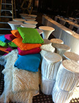 Pillows Carpets Tables - Prop For Hire