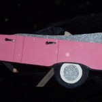 Pink Cadillac Sign - Prop For Hire