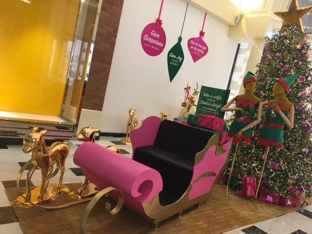 Pink Sleigh - Prop For Hire