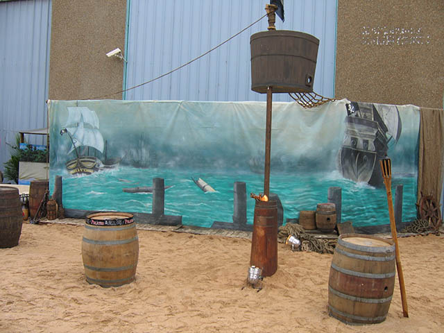Pirate Backdrop 1 - Prop For Hire
