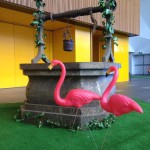 Plastic Flamingos 2 - Prop For Hire