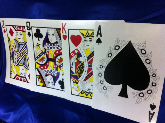 Playing Cards - Prop For Hire