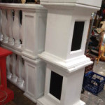 Plinths Balustrades - Prop For Hire