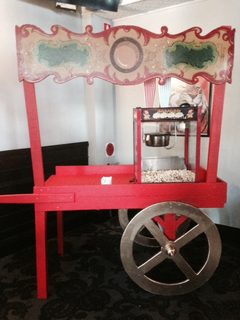 Popcorn Cart - Prop For Hire