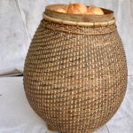 Pot Bellied Basket - Prop For Hire