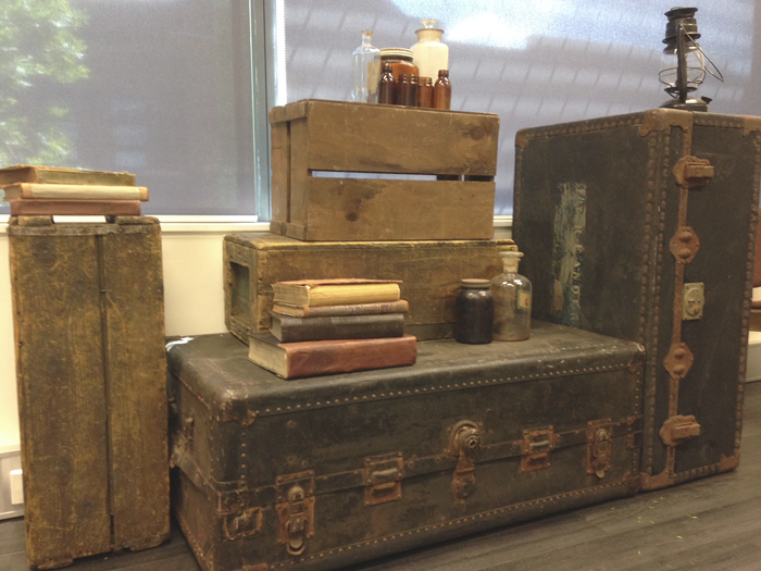 Prohibition Crates Trunks - Prop For Hire