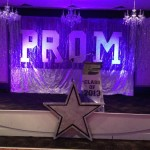 Prom Backdrop - Prop For Hire