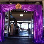 Purple Entrance - Prop For Hire