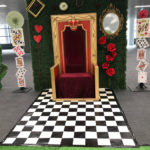 Queen of Hearts Photo Backdrop - Prop For Hire