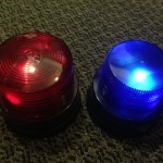 Red Blue Flashing Lights - Prop For Hire