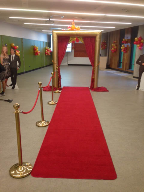 Red Carpet Entrance - Prop For Hire