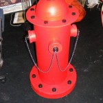 Red Fire Hydrant - Prop For Hire