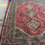Red Persian Rugs - Prop For Hire