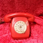 Red Telephone - Prop For Hire