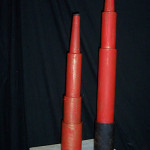 Red Telescopes - Prop For Hire
