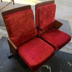 Red Theatre Chairs - Prop For Hire