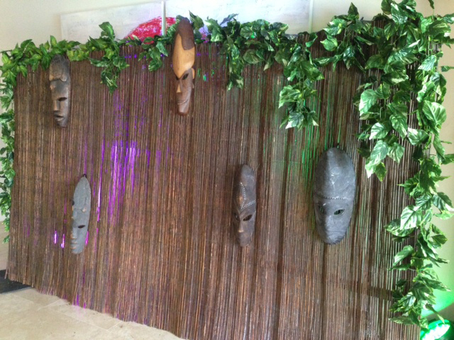 Reed Mask Backdrop - Prop For Hire