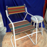 Retro Beach Chair - Prop For Hire