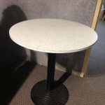 Retro Cafe Table - Prop For Hire