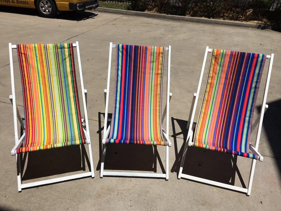 Retro Deck Chairs - Prop For Hire