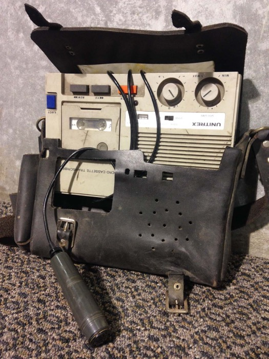Retro Dictaphone - Prop For Hire