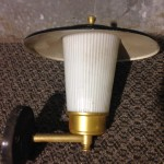 Retro External Light - Prop For Hire