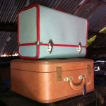 Retro Suitcases - Prop For Hire