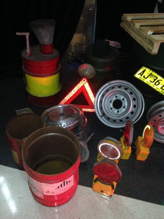 Road Beacons And Lights - Prop For Hire
